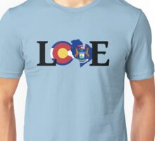 Love - Colorado/Michigan Unisex T-Shirt