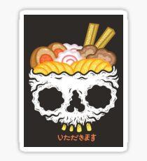 ITADAKIMASU- Ramen Sticker