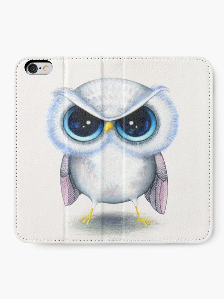 Alternate view of Grumpy Bird iPhone Wallet