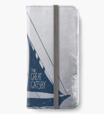 Great Gatsby Boat Quote iPhone Wallet/Case/Skin