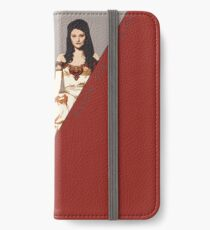 The picture of a beauty and her beast. iPhone Wallet/Case/Skin