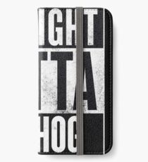 Straight Outta Quahog - The Family Guy iPhone Wallet/Case/Skin