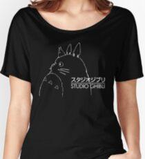 Studio Ghibli Inspired Totoro Women's Relaxed Fit T-Shirt
