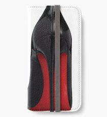 Rote Sohle Heels - Designer / Mode / Trendy / Hipster Meme iPhone Flip-Case/Hülle/Klebefolie