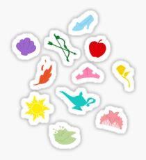 Princess Symbol Pattern Variant Sticker
