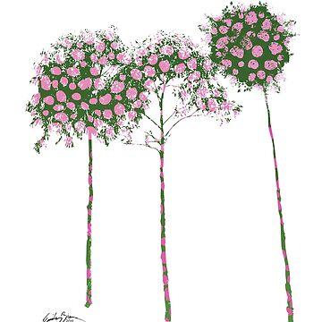 Standard Flower Trees 1 by emilybieman