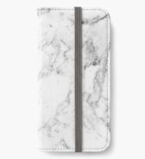 White Marble iPhone Wallet/Case/Skin