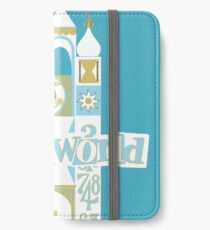 it's a small world! iPhone Wallet/Case/Skin