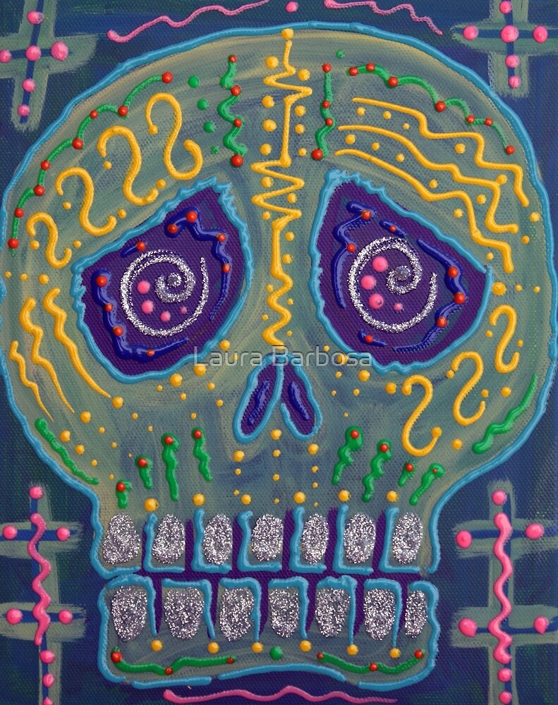 Great Electric Skull by Laura Barbosa