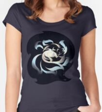 Galactic Kitsune Women's Fitted Scoop T-Shirt