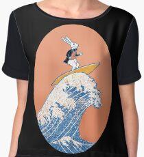 White Rabbit Surfing Chiffon Top