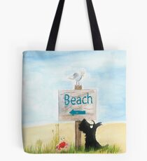 Scottie Dog 'Beach' Tote Bag