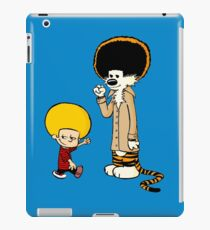 Calvin & Hobbes : Afro Style iPad Case/Skin