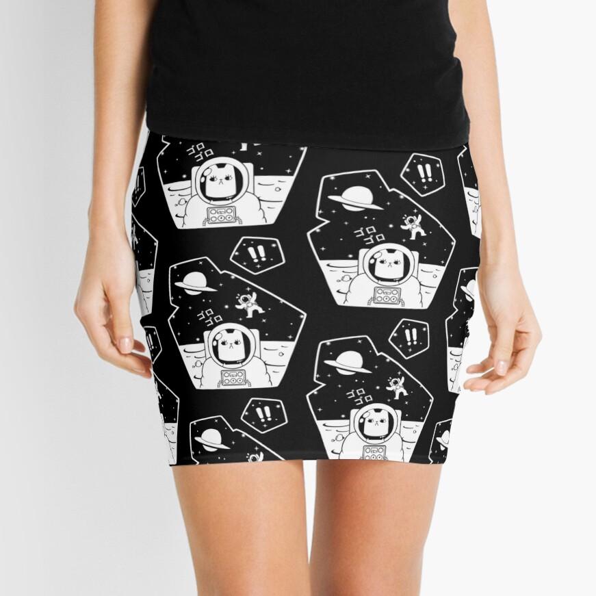 Christobelle Purrlumbus: Oblivious Explorer of Space Mini Skirt