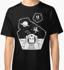 Christobelle Purrlumbus: Oblivious Explorer of Space Classic T-Shirt