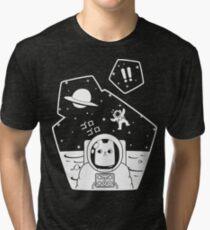 Christobelle Purrlumbus: Oblivious Explorer of Space Tri-blend T-Shirt