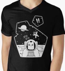Christobelle Purrlumbus: Oblivious Explorer of Space Men's V-Neck T-Shirt