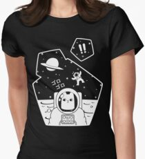 Christobelle Purrlumbus: Oblivious Explorer of Space Women's Fitted T-Shirt