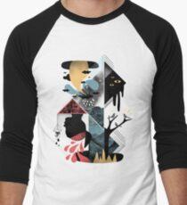 Shapes and Nightmares Men's Baseball ¾ T-Shirt