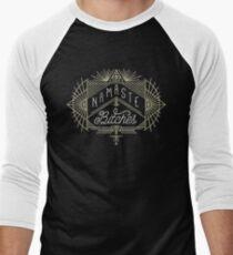 Namaste Bitches Men's Baseball ¾ T-Shirt