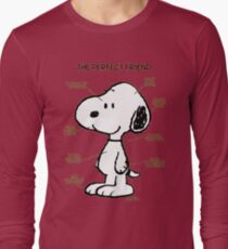Snoopy : The Perfect Friend Long Sleeve T-Shirt