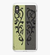 Grass Crest Shield iPhone Case