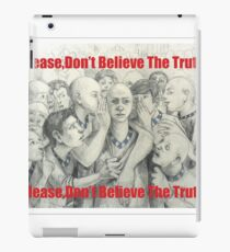 don't trust anyone else, many are layer iPad Case/Skin