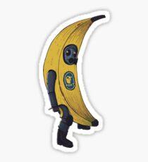 CSGO CT in Banana Sticker