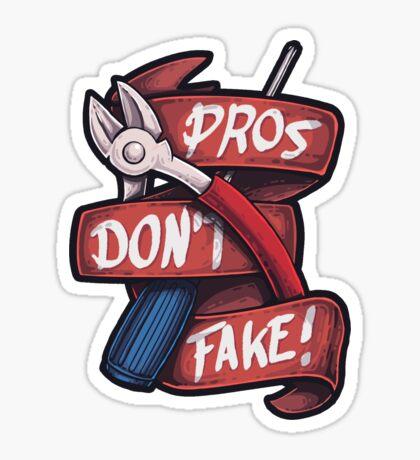 Csgo pros dont fake sticker