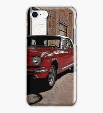 ford mustang cabriolet classic car iPhone Case/Skin