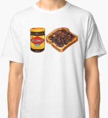 Vegemite and Toast Pattern Classic T-Shirt