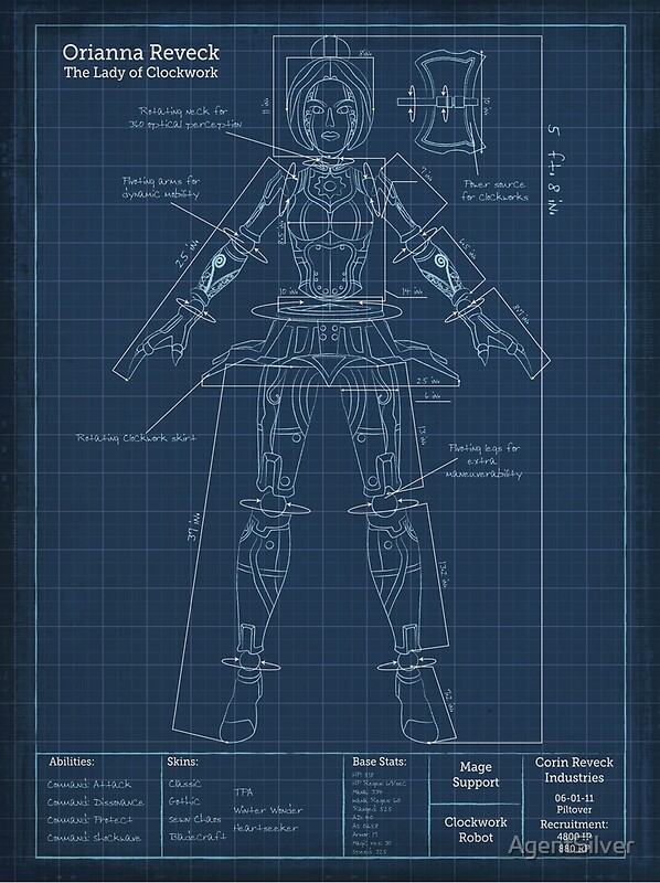 Mercury Spacecraft Blueprint Space Art Aviation Art