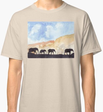 Silhouettes of Africa  Classic T-Shirt