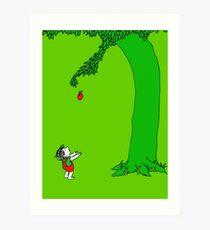 Givin' tree Art Print