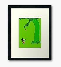 Givin' tree Framed Print