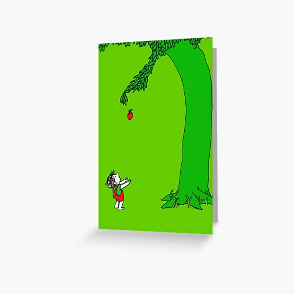 Givin & # 39; Baum Grußkarte