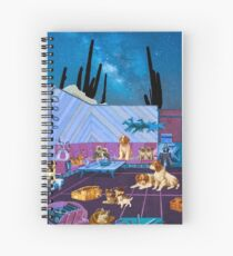 LIKE DOGS AND CATS Spiral Notebook