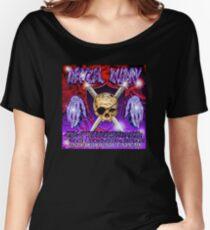 Camiseta ancha para mujer rey del traviesa del sur