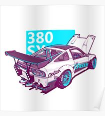 380 SX Poster