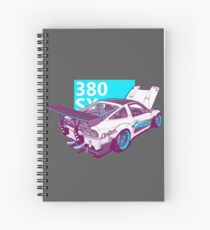 380 SX Spiral Notebook