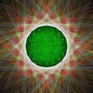 Green Button Planet by blackhalt