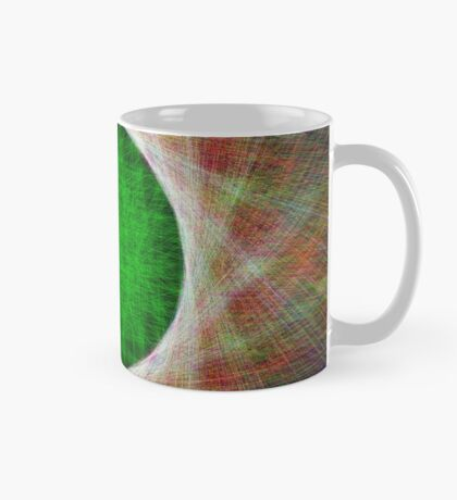 Green Button Planet Mug