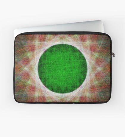 Green Button Planet Laptop Sleeve