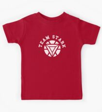 Team Stark - new reactor Kids Tee