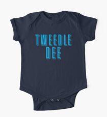 Tweedle DEE (with matching Tweedle DUMB) One Piece - Short Sleeve