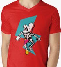 MICKY ELETTRIZZATO Mens V-Neck T-Shirt