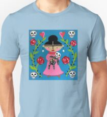 Little Frida and Skelly Unisex T-Shirt