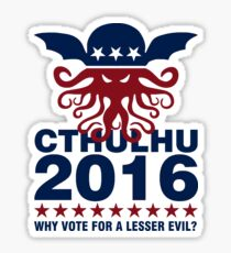 Cthulhu For 2016 Sticker