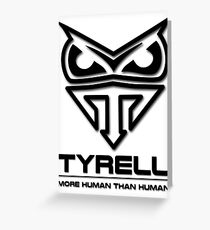 Blade Runner - Tyrell Corporation Logo Greeting Card
