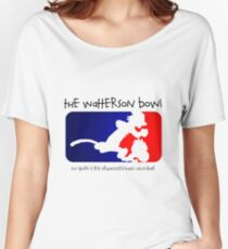 the wattrson bowl calvinball Women's Relaxed Fit T-Shirt